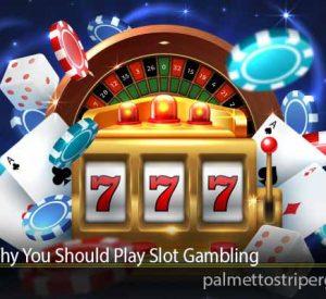 Reasons Why You Should Play Slot Gambling